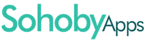 Sohoby Apps Logo Text Only