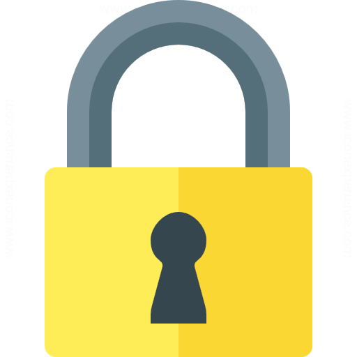 yellow-lock-symbol
